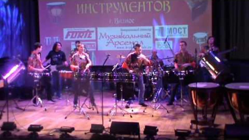 Embedded thumbnail for Москва Парад ударных инструментов